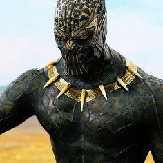 Erik Killmonger's Golden Jaguar suit