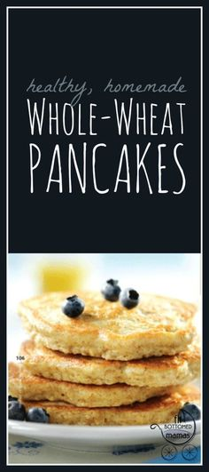 A pancake recipe to shake up that morning routine for the fam! Yummy!