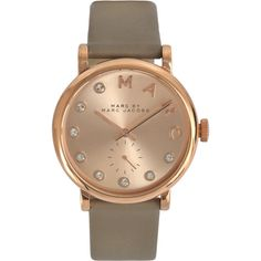 Michael Kors SLIM RUNWAY MK2468 watch (3.097.125 IDR) ❤ liked on Polyvore featuring jewelry, watches, grey, chronograph watches, analog watches, analog wrist watch, slim watches and grey watches