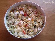 Šalát z pekingskej kapusty - Recept
