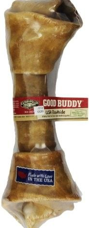 Good Buddy Castor and Pollux USA Rawhide Bone, 10 to 11-Inch , Pack of 5.