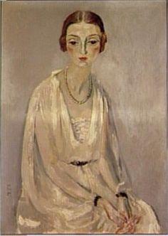 Kees van Dongen - Portrait de Madame Jeanne Mathis