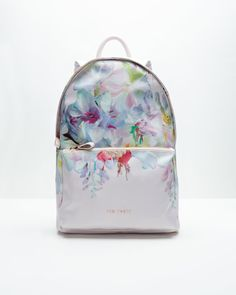 HANGING GARDEN NYLON BACKPACK - Baby Pink | Bags | Ted Baker