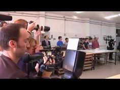 """Su Majestad la Reina Letizia presidió la apertura del Curso de Formación Profesional 2015 / 2016, en Instituto de Educación Secundaria """"Javier García Téllez"""". Cáceres, 01.10.2015"""