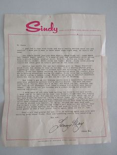 Sindy Doll 1966 Club Letter Refers to Sindys New Outfits Sindy Doll, Dolls, Court Outfit, New Outfits, Club, Lettering, Ebay, Vintage, Baby Dolls