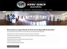 Krav Maga, Reference Site, Lausanne, Site Internet, Html, Desktop Screenshot, Base
