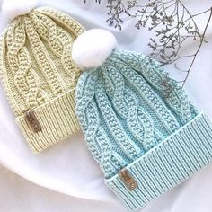 Baby Hats Knitting, Loom Knitting, Free Knitting, Knitted Hats, Knitting Patterns, Crochet Gifts, Crochet Baby, Knit Crochet, Hat Patterns