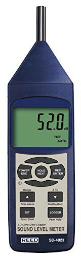 http://homeimprovementtools.info/reed-instruments-sd-4023-sound-level-meter-data-logger/- The REED SD-4023 Datalogging Sound Level Meter measures sound levels in accordance with IEC61672 Class 2 specifications. It features A/C