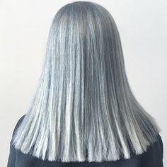 Beautiful #GrayHair color from #Aveda Institute Nashville student @AltJess #aisouth #AvedaColor #silverhair #nofilter