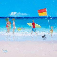 Beach Art, beach decor, coastal decor, beach painting, beach house style, coastal living, beach home interiors, beach house decorating,
