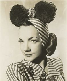 Lily Dache Pom Pom Hat.