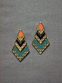 ponte azteca earrings