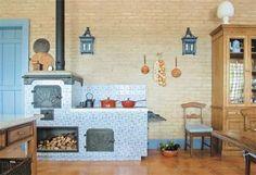 25 cozinhas charmosas com fogão a lenha - Casa