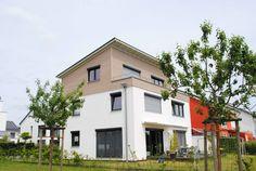 Passivhaus mit tollem Balkon im Zero:e Park in Hannover.