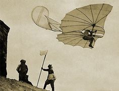 OTTO LILIENTHAL- human flights - gliding - Anklam museum