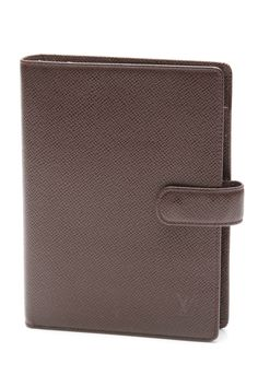 Louis Vuitton brown Taiga leather agenda cover (our price: $364.99)