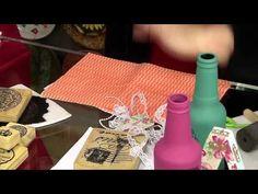 PaP Kit Aromatizador - Vida Melhor 15/09/2015 Decoupage, Recycling, Diy, Youtube, Decorative Bottles, Handmade Crafts, Recycled Bottles, Glass Bottles, Diy Tutorial