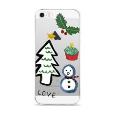 Christmas Scene iPhone Case