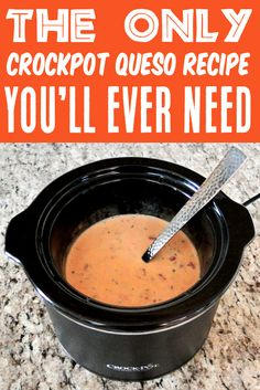 Queso Dip Recipe Easy Velveeta Crockpot Cheese Dip! This creamy, dreamy queso and nacho sauce is going to be downright heavenly, so get the chips ready! Go grab the recipe and treat yourself this week!