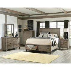 Futuristic Farmhouse Bedroom Set Interior