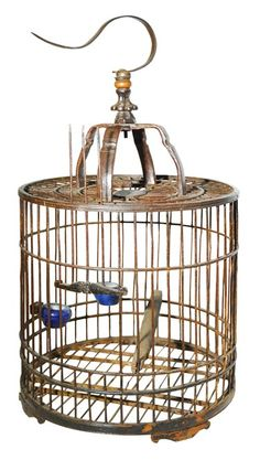 Antique Bird Cages | Antique Bird Cage For Sale | Antiques.com | Classifieds