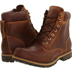 """Timberland Earthkeepers Rugged 6"""" boots in Copper Roughcut"""