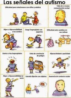 SEÑALES DEL AUTISMO.       Infografía sobre las primeras señales del autismo, pinchar en el enlace para obtener la imagen.