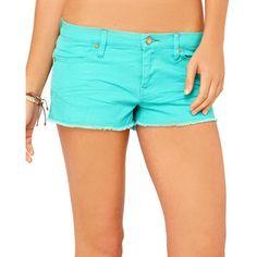 "Roxy LADIES SUN SKIPPERS 2"" DENIM SHORT. Sale $34.99"