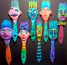Ginny Piech Street: Art Walk Studio Shots and New Brush Head.-Ginny Piech Street: Art Walk Studio Shots and New Brush Heads! – … Ginny Piech Street: Art Walk Studio Shots and New Brush Heads! Paint Brush Art, Paint Brushes, 3d Art, 6th Grade Art, School Art Projects, Art Club Projects, Art Walk, Junk Art, Recycled Art