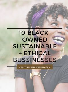 Support and invest in the black-owned business. There are so many wonderful companies to invest your money that are black-owned. Here are 10 Black-owned Sustainable companies that you can support today and every day!  #blackownedbusiness #shopblackowned #sustainablebrands Ethical Clothing, Ethical Fashion, Trade Clothes, Tips For Traveling Alone, Sustainable Fashion, Sustainable Living, Sustainable Companies, Business Ethics, Ethical Brands