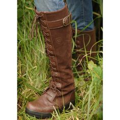 Ariat Europe Boots Coniston Tall Lace Waterproof Ladies Boots