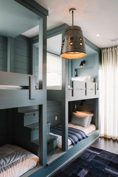 Bunk bed rooms for girls bunk beds for teens loft beds teen bedroom ideas awesome teenage Childrens Bunk Beds, Girls Bunk Beds, Bunk Bed Rooms, Bunk Beds Built In, Modern Bunk Beds, Cool Bunk Beds, Bunk Beds With Stairs, Kid Beds, Build In Bunk Beds