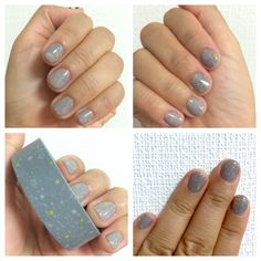 Washi tape nail art