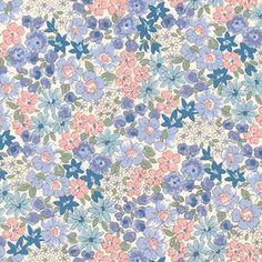 Floral in Blue (Sevenberry - Petite Garden 2)