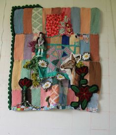 Work from French Fabric Artist Lea Stansal