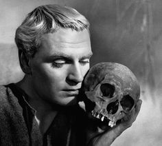 """""""Hamlet"""" is a 1948 British film adaptation of William Shakespeare's play, adapted & directed by and starring Sir Laurence Olivier."""