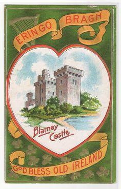 St Patricks Day Blarney Castle Ireland Irish by ThePostcardDepot, $5.00