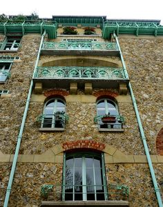 rue Jean de La Fontaine, Castel Béranger, Hector Guimard architect, Paris 16e