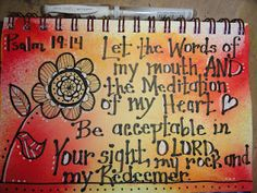 31 Days of Christian Art Journaling: Doodling with markers