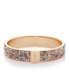 Narrow Crystal Rocks Bangle   Bracelets   Henri Bendel