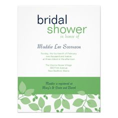 Discount DealsGreen and Blue Floral Bridal Shower Invitationso please read the important details before your purchasing anyway here is the best buy