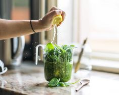 Can we just talk about green smoothies for a minute? Green smoothies are everything. Once you make green smoothies a part of your routine, I guarantee you wil Green Smoothie Girl, Green Smoothie Recipes, Healthy Smoothies, Healthy Food, Making Smoothies, Healthy Juices, Stay Healthy, Healthy Drinks, Healthy Recipes