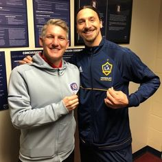 Was good to see you my friend @iamzlatanibrahimovic. All the best this season.