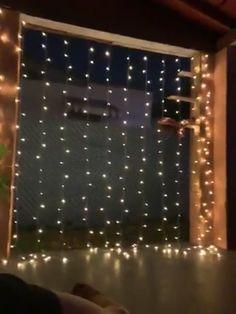 Christmas Lights Wedding, Christmas String Lights, Christmas Party Decorations, Holiday Lights, Christmas Tree, Backdrop Decorations, Light Decorations, Decorating With Fairy Lights, Decorating Ideas
