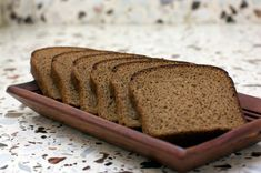 This Schwarzbrot recipe.  German Rye bread