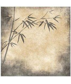Parchment Bamboo Wallpaper Mural