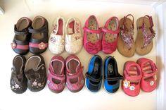 Toddler Girls Shoes Stride Rite Pediped See Kai Run Vans Gymboree 3 4 4.5 5 7  #SeeKaiRunPedipedStrideRiteVansSeven #CasualShoes