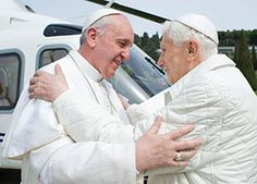 A tale of two popes Comparing Pope Emeritus Benedict, Pope Francis makes…