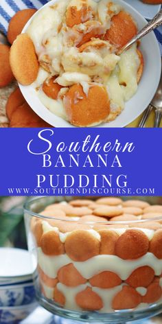 Homemade Southern Banana Pudding made from scratch uses simple ingredients to create a rich, creamy custard-like pudding layered with sweet, ripe bananas & addictive vanilla wafer cookies. It's an easy, classic dessert Banana Pudding From Scratch, No Bake Banana Pudding, Southern Banana Pudding, Best Dessert Recipes, Cookie Recipes, Delicious Desserts, Yummy Food, Easy Recipes, Dinner Recipes