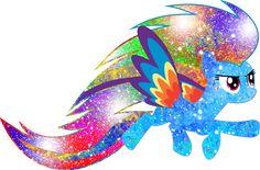 Galaxy Rainbow Power Rainbow Dash by DigiTeku.deviantart.com on @deviantART